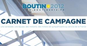Carnet de campagne Boutin2012