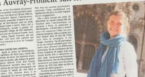 Oise : Anita Auvray-Froment pour faire gagner les idées du PCD