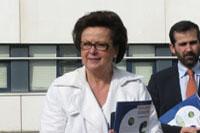 Christine Boutin en déplacement à Brest sur les thèmes de l'écologie marine et de la construction navale