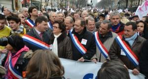 Manif Pour Tous : le PCD en tête du cortège des élus