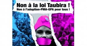 Manifestation nationale contre le projet de loi Taubira le 26 mai