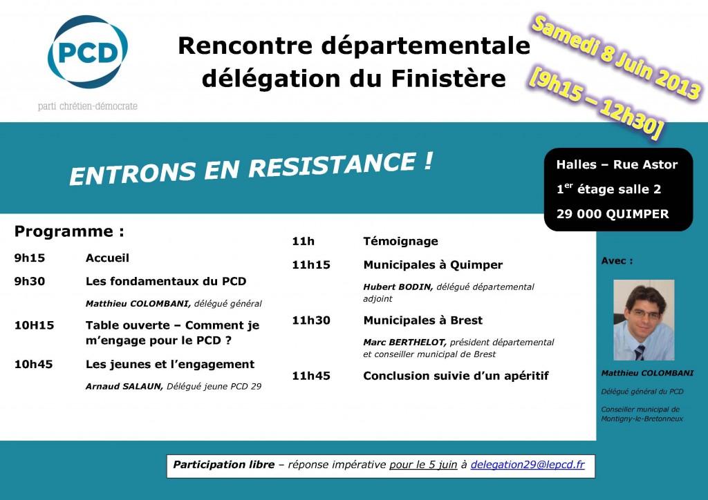 invitation Rencontre départementale 8 juin