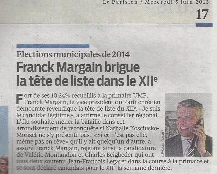 Article Le Parisien - 5 juin 2013