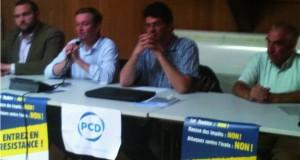 Visite du Délégué Général du PCD à la délégation du Finistère