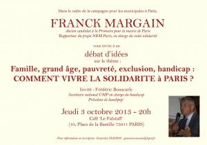 Comment vivre la solidarité à Paris - Jeudi 3 octobre