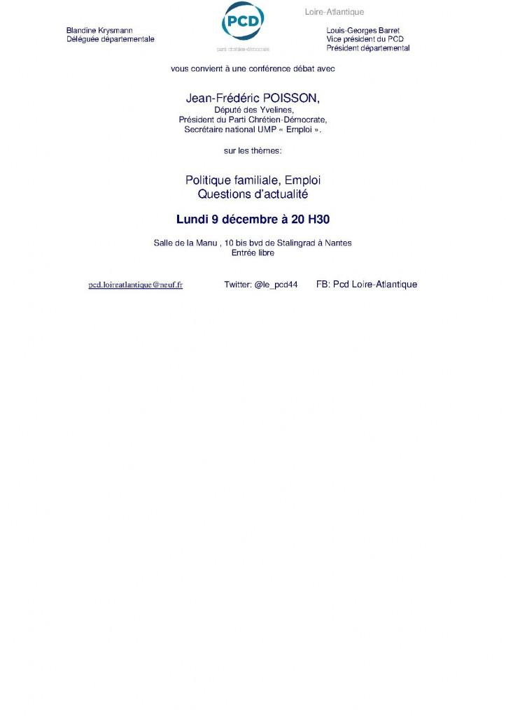 réunion publique JFP - Nantes