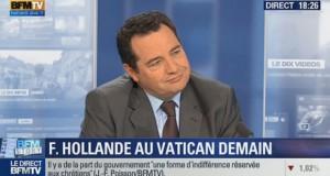 [Vidéo] François Hollande au Vatican : une récupération politique contestée – BFM