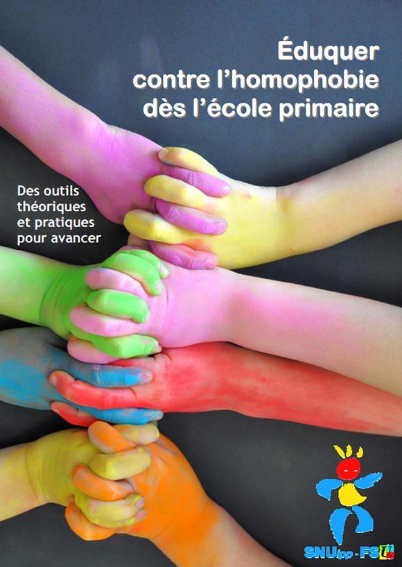 Rapport du syndicat SNUipp-FSU de juin 2013 « Eduquer contre l'homophobie dès l'école primaire »