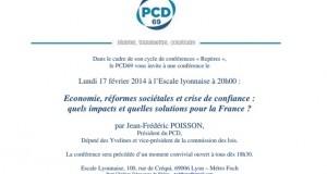 17 février: conférence de Jean-Frédéric Poisson