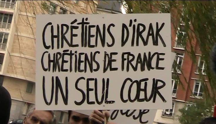 Question de Jean-Frédéric Poisson à Laurent Fabius sur les chrétiens d'Orient