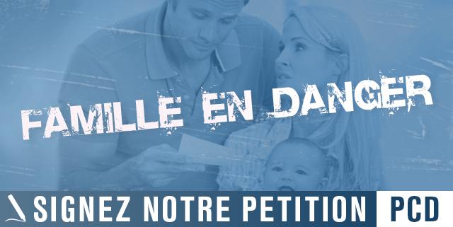 Signez notre pétitionpour défendre la famille! | #5octobre