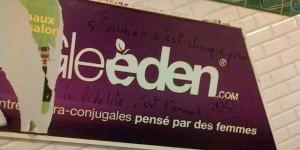 Le PCD soutient les élus franciliens qui demandent le retrait des pubs Gleeden.