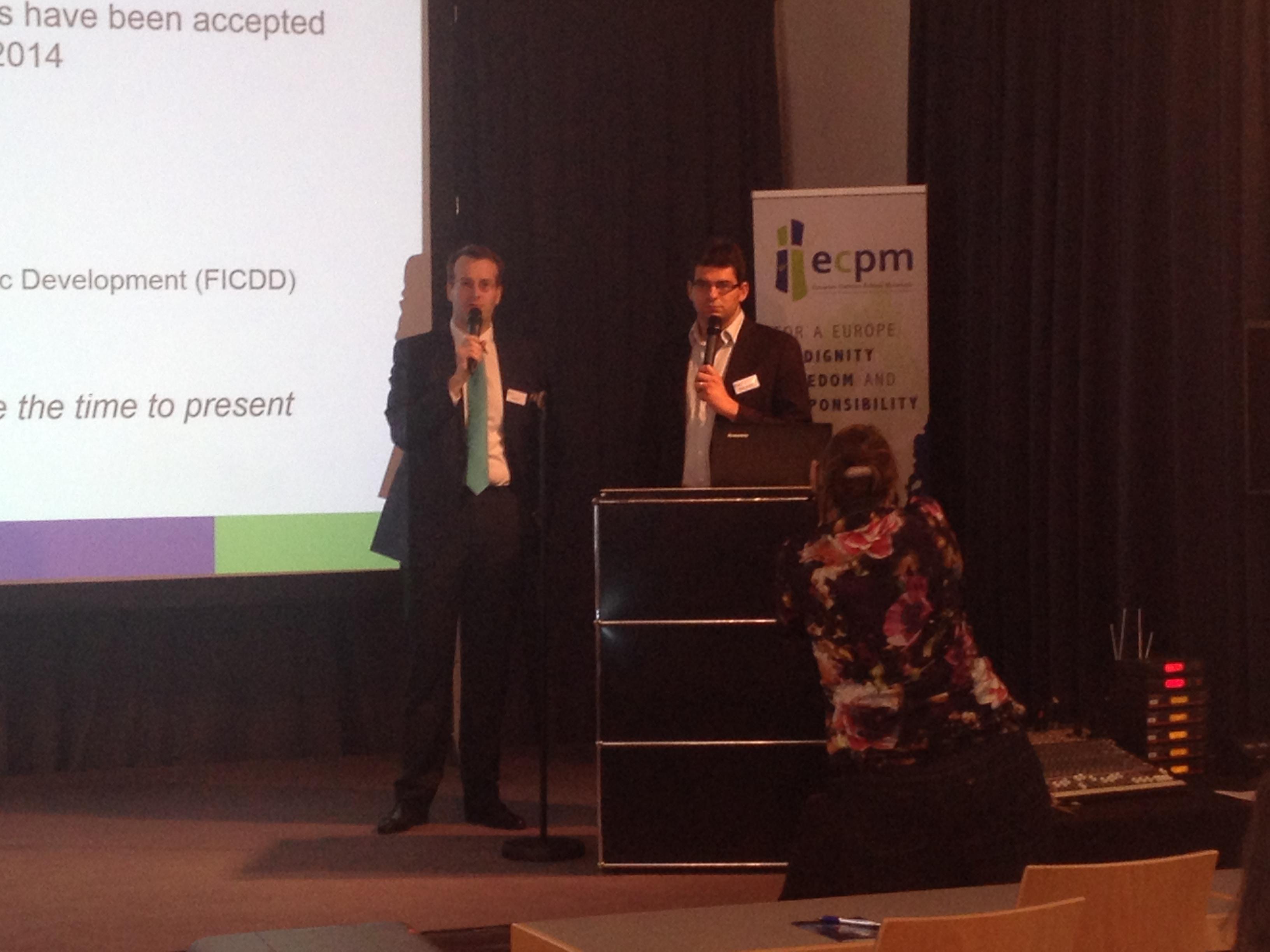 ECPM présentation PCD