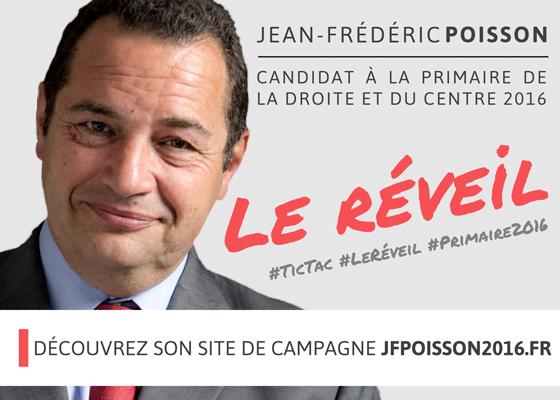 Campagne Primaire 2016 | J-F Poisson