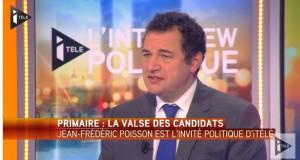 Primaire, Syrie, IVG : Jean-Frédéric Poisson était l'invité de Bruce Toussaint sur itélé ce mercredi 30 mars