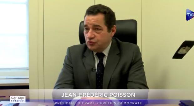 «Législatives : non à la prime à la déloyauté pour l'UDI !» – Interview de Jean-Frédéric Poisson pour TVLibertés