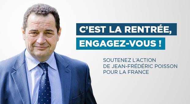 Rentrée politique 2017 de Jean-Frédéric Poisson - Président du PCD