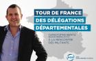 Tour de France des délégations départementales du PCD