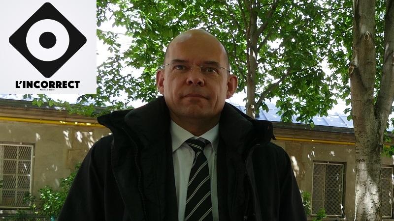 Xavier Lemoine, mayor of Montfermeil in Paris (Île-de-France, France).