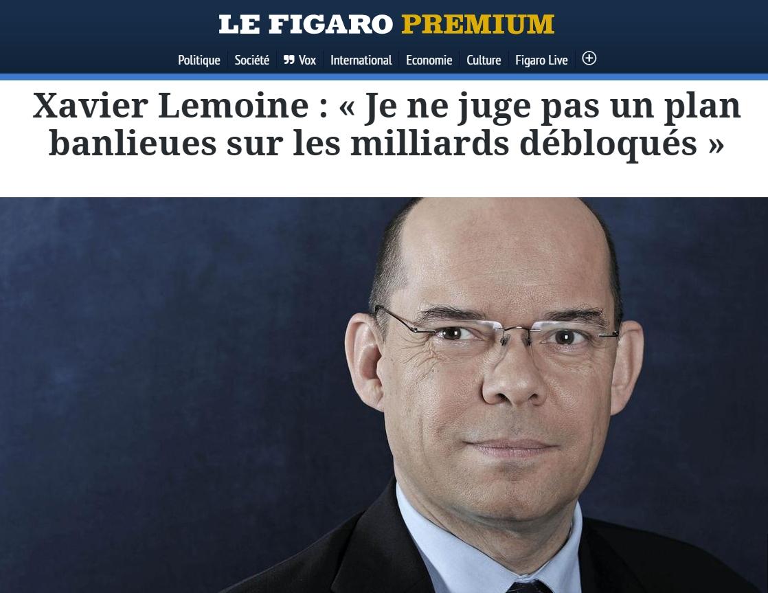 X Lemoine - Figaro