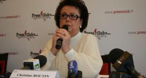 Nouvelles de France : Exclusif : Christine Boutin dénonce « un gouvernement matérialiste et libertaire »