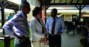 C.Boutin en Martinique : « Nous avons préféré lui faire rencontrer la jeunesse martiniquaise, la population et le milieu rural»