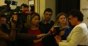 Christine Boutin au Press Club : La primaire socialiste est contraire à l'esprit de la Constitution