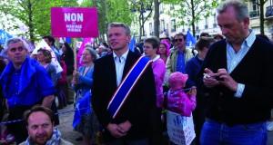 Franck Margain à la Manif Pour Tous