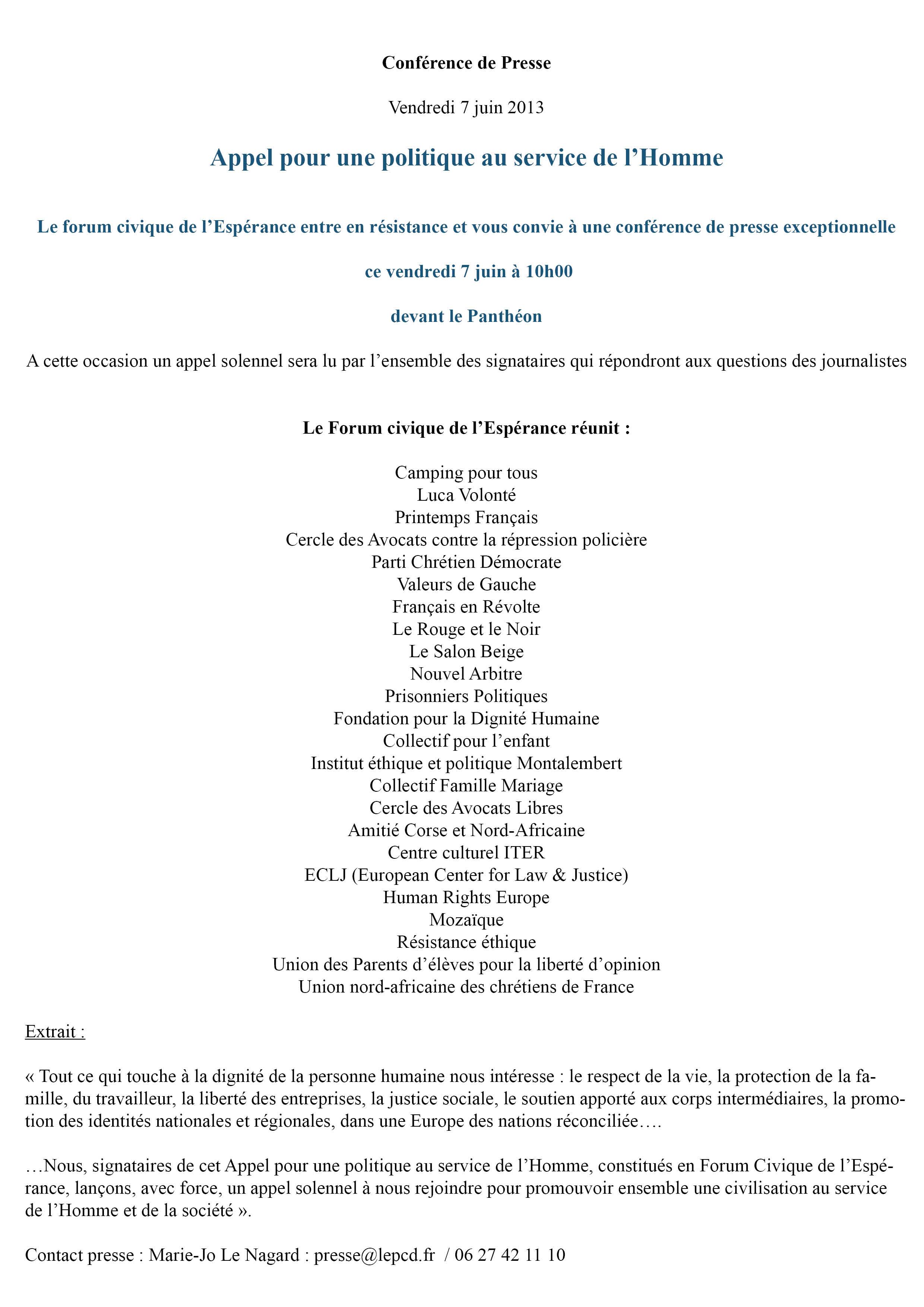 CP forum esperance