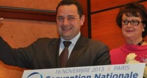 Jean-Frédéric Poisson élu à 73,78% des voix pour succéder à Christine Boutin
