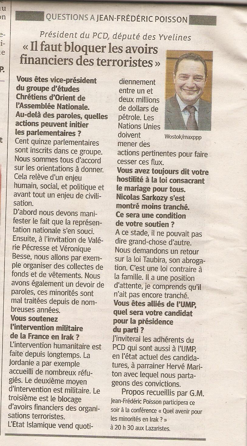 Le Progres JFP_2014 09 24