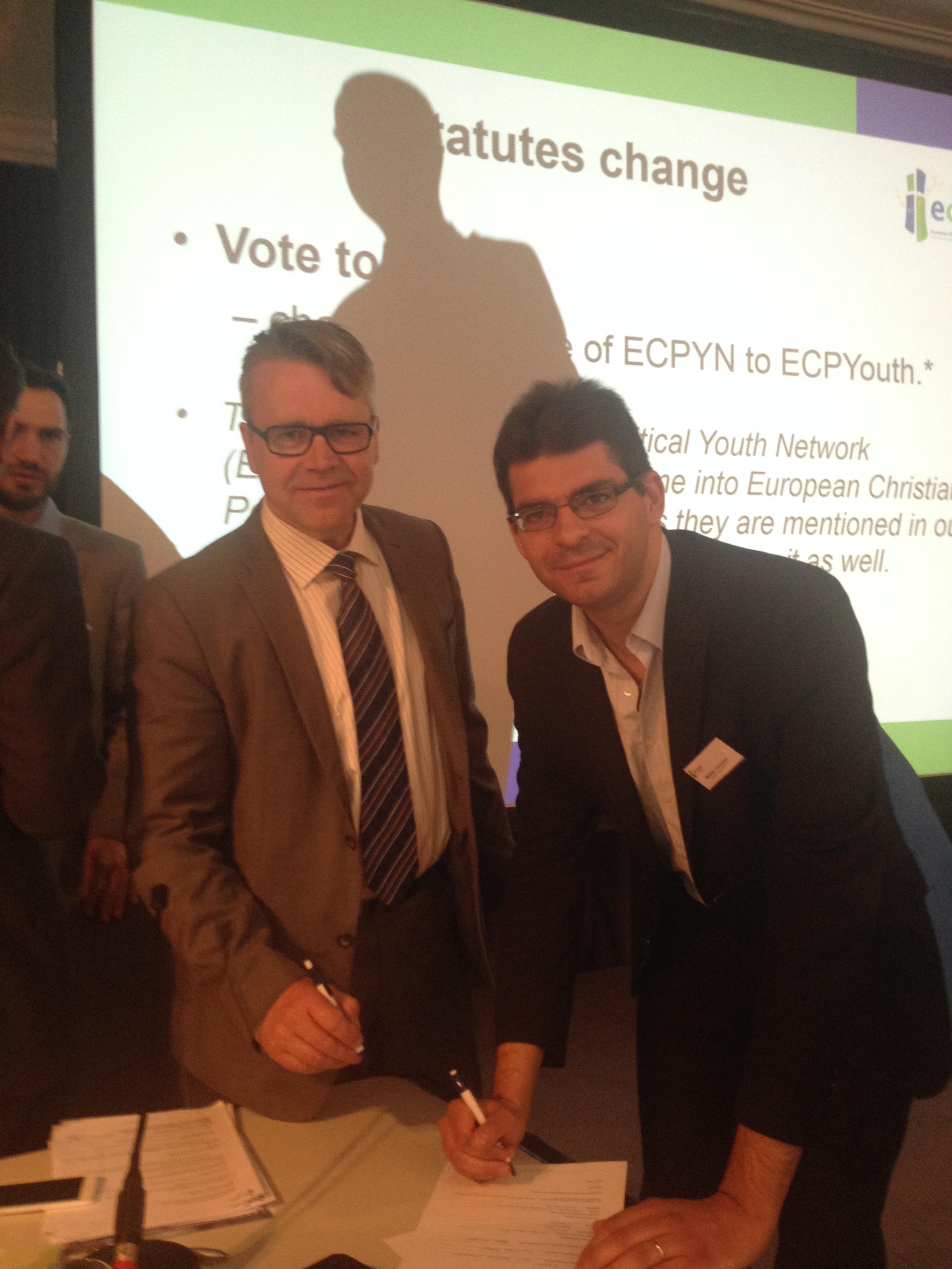 ECPM signature