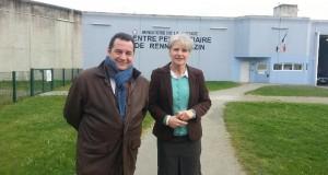 Réunion publique et visite d'une prison à Rennes le 24 février 2016