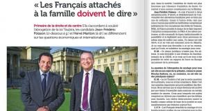 Primaire 2016 – Interview croisée entre Jean-Frédéric Poisson et Hervé Mariton pour Famille Chrétienne.