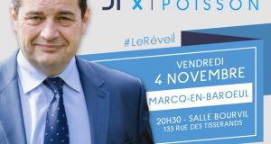 Vendredi 4 novembre – Réunion publique à Marcq-en-Baroeul
