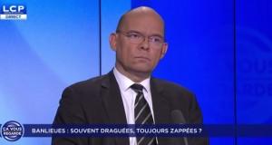 «Banlieues : souvent draguées, toujours zappées ?» Xavier Lemoine était sur LCP