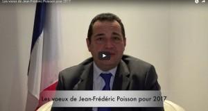 Les voeux de Jean-Frédéric Poisson pour 2017