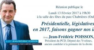 Présidentielle, législatives : réunion publique à Lyon le lundi 13 février