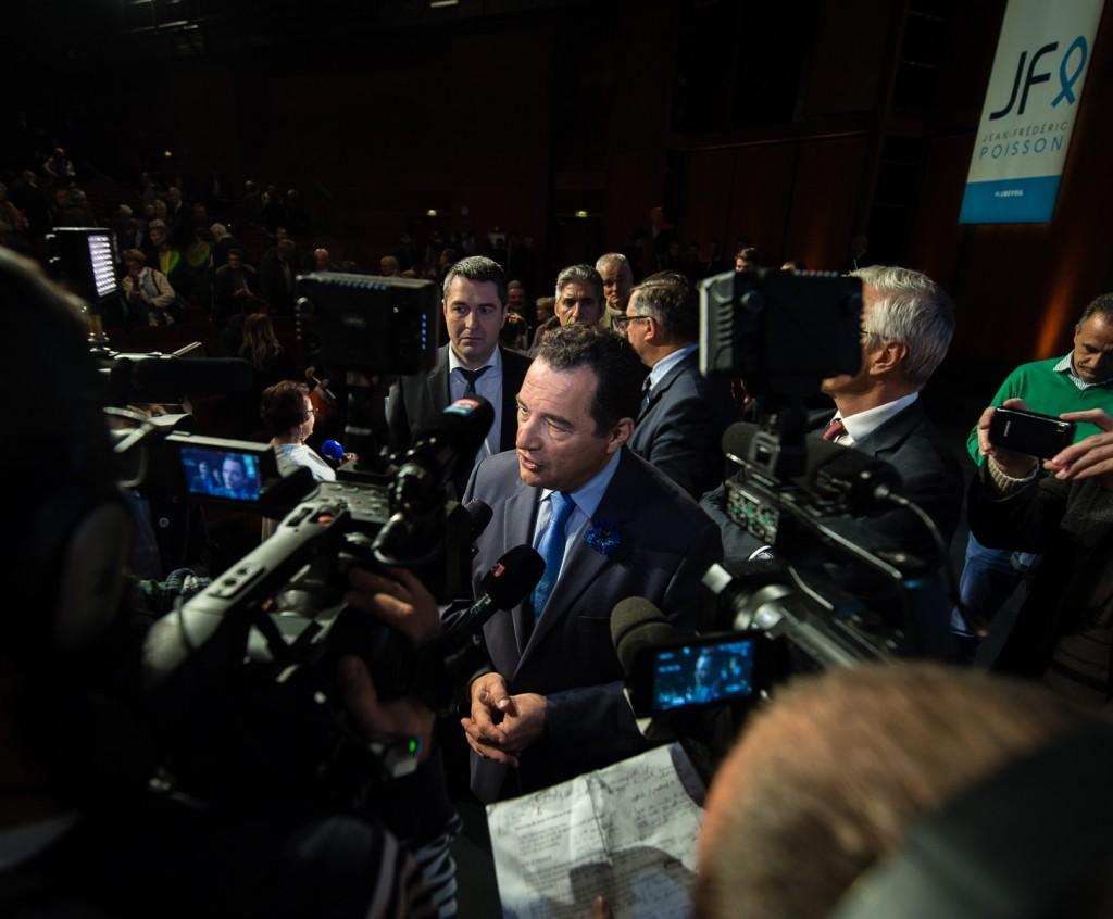 Jean-Frédéric Poisson médias meeting
