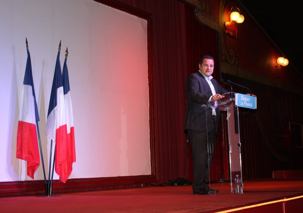 Jean-Frédéric Poisson rentrée DLF