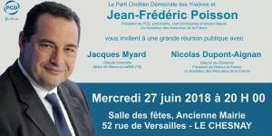 Réunion publique des Amoureux de la France dans les Yvelines