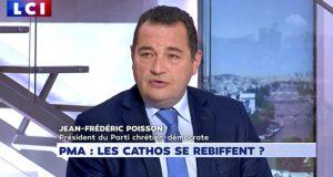 Jean-Frédéric Poisson était l'invité politique de LCI lundi 1er octobre