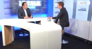 Jean-Frédéric Poisson était l'invité politique du Talk Le Figaro