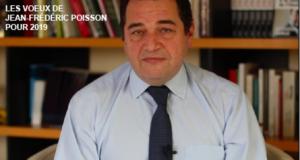 Les voeux de Jean-Frédéric Poisson pour 2019