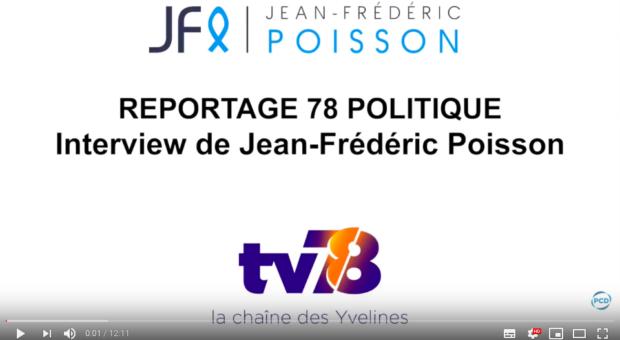 Interview de Jean-Frédéric Poisson sur TV78