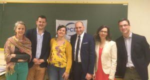 La Roche sur Yon : Christophe Bentz à la rencontre des militants et sympathisants du PCD