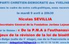 Café-politique du PCD 78 à Versailles le mardi 9 avril : « De la P.M.A à l'euthanasie les enjeux de