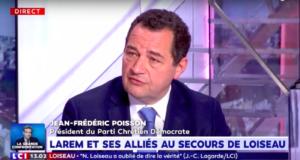 Jean Frédéric Poisson sur LCI MIDI – mercredi 24 avril 2019