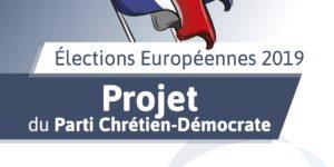 Le projet européen que le PCD aurait voulu porter aux élections européennes !