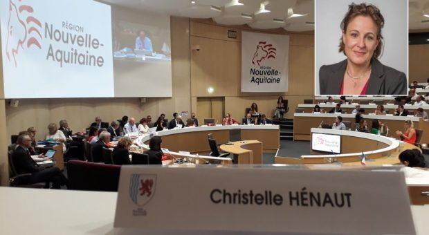Christelle Hénaut, Conseillère régionale de Nouvelle Aquitaine, rejoint le PCD
